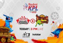 Karnataka Premier League 2019 Live,KPL 2019 Live,Karnataka Premier League 2019,Ballari Tuskers vs Bijapur Bulls Live,Star Sports Live