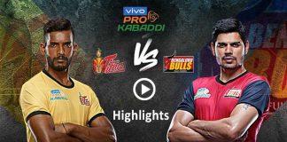 PKL 2019,PKL 2019 Season 7,Pro Kabaddi League 2019 Highlights,Telugu Titans vs Bengaluru Bulls Highlights,Watch Telugu Titans vs Bengaluru Bulls Highlights