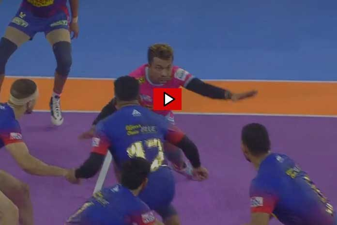 PKL 2019 Highlights,PKL 2019 Season 7,Vivo Pro Kabaddi League 2019,Dabang Delhi vs Jaipur Pink Panthers Highlights,Watch Dabang Delhi vs Jaipur Pink Panthers Highlights