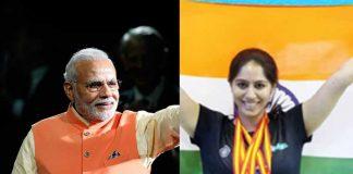 BWF Para Badminton World Championship 2019,BWF Para Badminton Championship 2019,Prime Minister of India,Narendra Modi,Indian para Badminton team