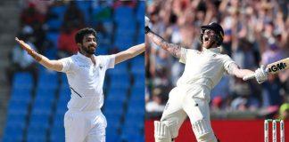 ICC Test Rankings,ICC Test Player Rankings,ICC Rankings,Ben Stokes ICC Test Ranking,Jasprit Bumrah ICC Test Ranking