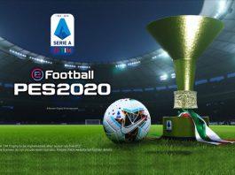 eFootball PES 2020,Serie A,Konami eFootball PES 2020,Konami PES 2020,Serie A TIM champions