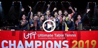 UTT 2019,UTT 2019 Champion,UTT 2019 Highlights,Chennai Lions,Dabang Delhi