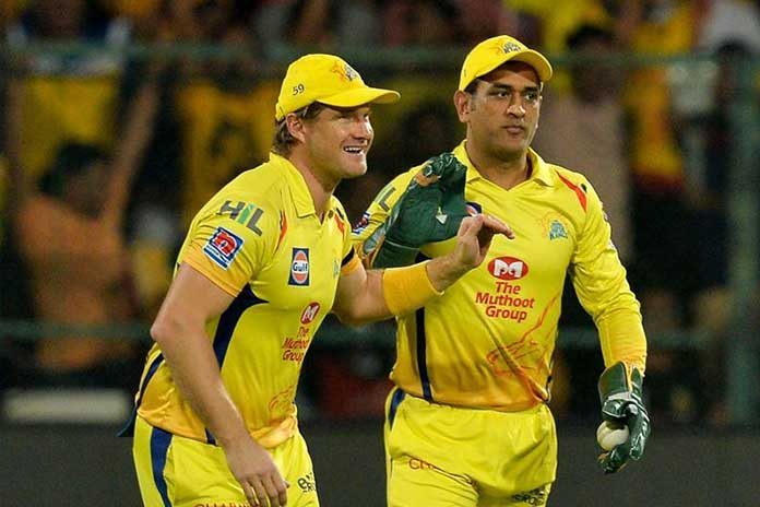 Chennai Super Kings,Shane Watson,Mahendra Singh Dhoni,MS Dhoni,CSK
