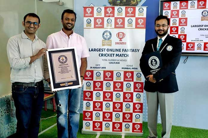 Dream11,Dream11 Guinness World Record,Guinness World Records book,IPL 2019,IPL 2019 Final