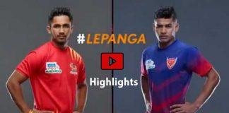 PKL 2019,PKL 2019 Season 7,Vivo Pro Kabaddi League 2019,Gujarat Fortunegiantsvs Dabang Delhi Highlights,Watch Gujarat Fortunegiantsvs Dabang Delhi Highlights