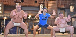 Novak Djokovic,Sumo wrestling,ATP Tour,Rakuten Open,Rakuten Japan Open Tennis Championships