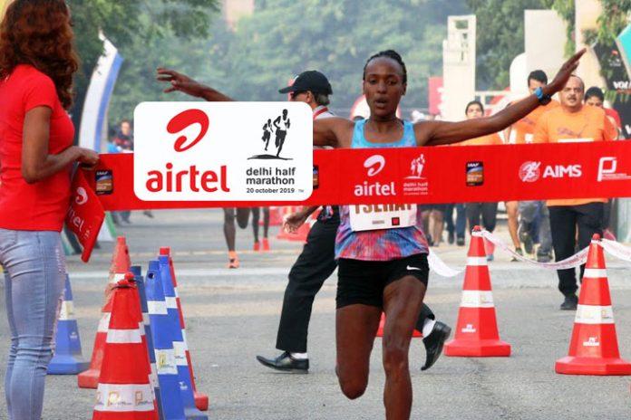 Delhi Half Marathon,Delhi Half Marathon 2019,Andamlak Belihu,Tsehay Gemechu,IAAF Gold Label Road Race