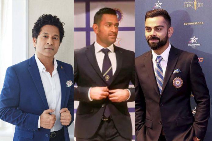 Virat Kohli,Sachin Tendulkar,Mahendra Singh Dhoni,Narendra Modi,YouGov survey