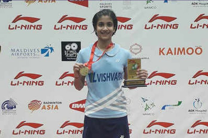 Malvika Bansod,Vishwaraj Infrastructure Limited,Maldives International,Maharashtra Badminton Association,Badminton Association of India