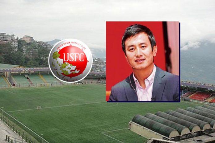 Baichung Bhutia,United Sikkim Football Club,Football Club,Bhaichung Bhutia's association,United Sikkim