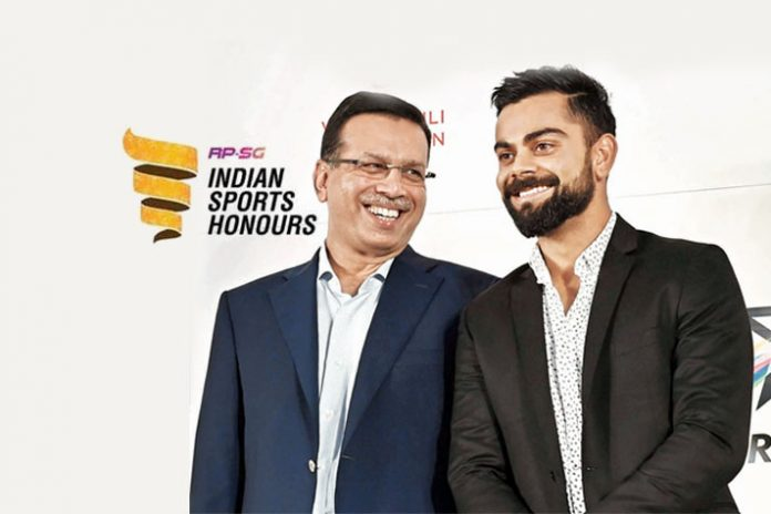 Sanjiv Goenka,Indian Sports Honours,Virat Kohli,RP-Sanjiv Goenka Group,Sports Journalists Federation of India