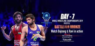 UWW World Championships 2019 Live,UWW World Wrestling Championships 2019 Live,World Wrestling Championships 2019 Live,World Championships 2019 Live,Bajrang Punia Live