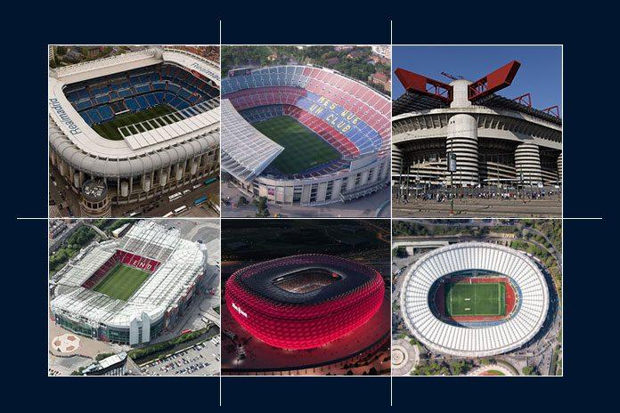 Football Stadiums,UEFA Champions League,UEFA Europa League,Europe's Football Stadiums,Football Association.