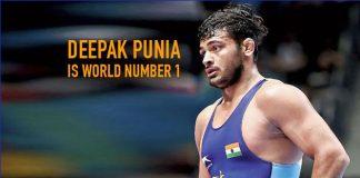 Deepak Punia,UWW latest Rankings,UWW World Championship 2019,Bajrang Punia Ranking,United World Wrestling
