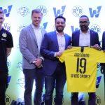 German football club,Borussia Dortmund,World1 Sports,Indian football community,Indian football