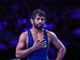 Bajrang Punia,Wrestling India,World Wrestling Championships,Kiren Rijiju,Sports Minister of India