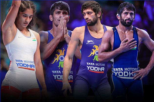 Tata Motors,Indian wrestling,UWW World Championship,UWW World Championship medals,Wrestling Federation of India