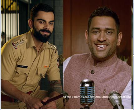 Mahendra Singh Dhoni,Virat Kohli,Flipkart's Big Billion Days,Flipkart,Big Billion Sale,Sports Business News India