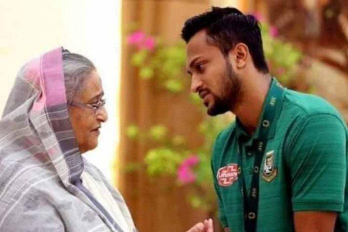 Shakib Al Hasan,Sheikh Hasina,Bangladesh PM,Bangladesh Cricket Captain,BCB