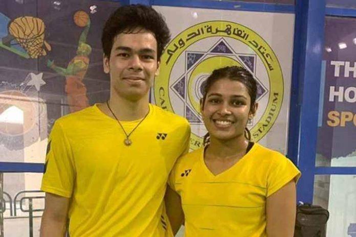 Kuhoo Garg,Dhruv Rawat, Egypt International 2019, Egypt International Badminton Championship,Egypt International Badminton 2019