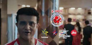 ISL 2019,Sourav Ganguly,ISL 2019 Campaign,Star Sports,ISL 2019 Season 6