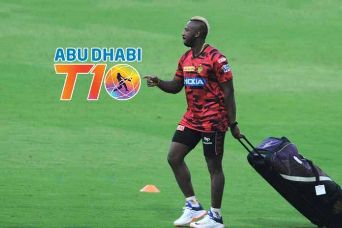 Abu Dhabi T10 League LIVE,Abu Dhabi T10 League,Andre Russell,Abu Dhabi T10 LIVE,Abu Dhabi T10