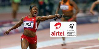 Sport News Business,Delhi Half Marathon 2019,Carmelita Jeter,World Athletes Championship,Delhi Half Marathon