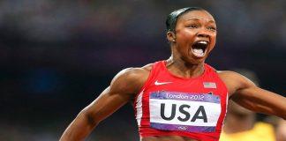 Carmelita Jeter,Dutee Chand,Olympic Games,Airtel Delhi Half Marathon,Indian Athletes