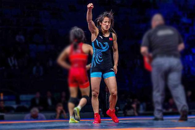 China Wrestlers,SUN Yanan,Tokyo 2020 Olympics,women wrestlers,Wrestling News
