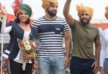 Sakshi Malik,Bajrang Punia,Dangal Kanpur,Indian Wrestlers,Wrestling Dangal Kanpur