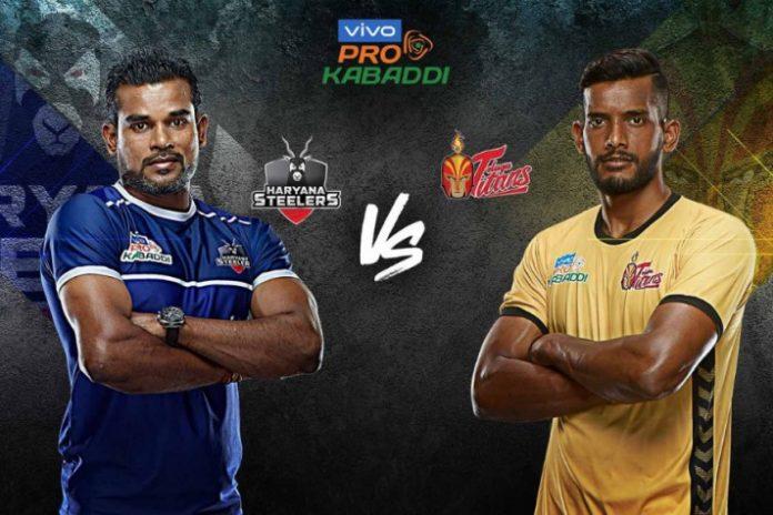 PKL 2019 Highlight,Pro Kabaddi League 2019,Haryana Steelers vs Telugu Titans,PKL 2019 LIVE,PKL Live Streaming