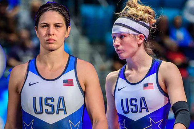Adeline Gray,Sarah Hildebrandt,US Women's Wrestling Team,USA Wrestling,Wrestling News