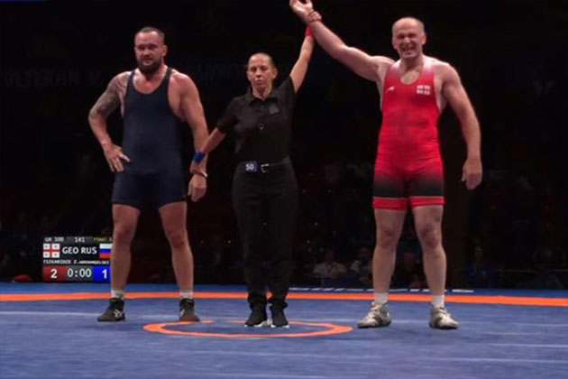 UWW Veterans World Wrestling Championship,UWW Veterans World Wrestling Championship 2019,World Wrestling Championship 2019,Georgia Wrestling Team,Zurab Tsikaridze