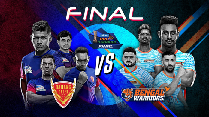 PKL 2019,PKL 2019 Final Live,Pro Kabaddi League 2019 Live,Dabang Delhi vs Bengal Warriors Live,Star Sports Live