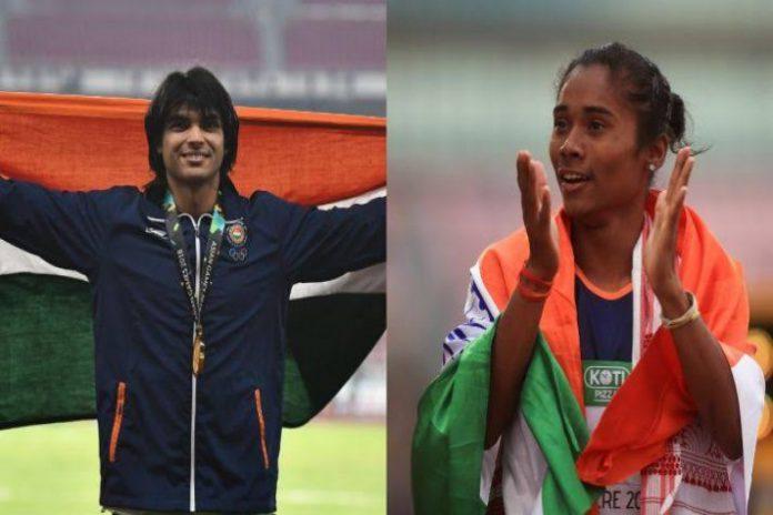 Neeraj Chopra,Hima Das,Tokyo Olympics 2020,AFI,NIS Patiala Campers