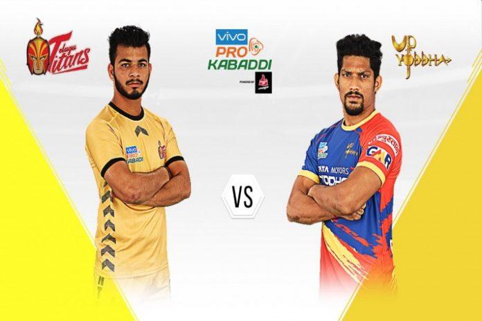 PKL 2019 PKL 2019 Highlight,Pro Kabaddi League 2019,UP Yoddha vs Telugu Titans,PKL 2019 LIVE