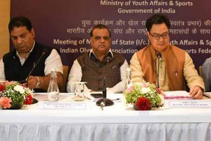 Indian Olympic Association,2022 Birmingham Commonwealth Games,Kiren Rijiju,Narinder Batra,Rajeev Mehta