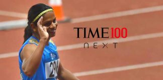 Dutee Chand,Ben Stoke,TIME 100 Next,Indian sprinter,Sports Business News India