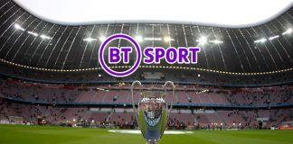 BT Sport,UEFA Champions League,European football club,Uefa Europa League,Sports Business News