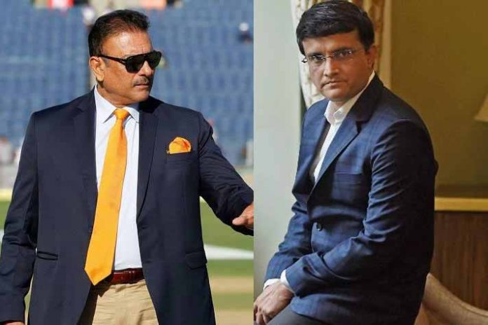Ravi Shastri,Sourav Ganguly,Indian Cricket Team Head Coach,National Cricket Academy,BCCI