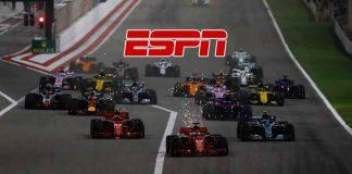 ESPN networks,Formula 1,Formula 1 LIVE,Formula 1 LIVE Telecast,Sports Business News
