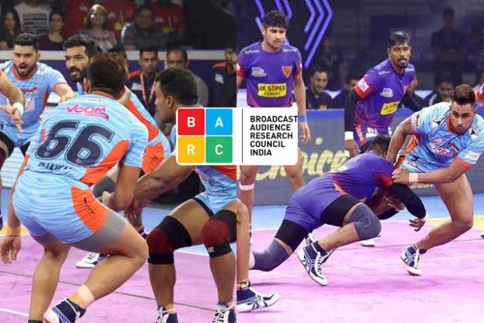 PKL BARC Ratings ,BARC Ratings,PKL ratings,Star Sports,Star Sports 1 Hindi