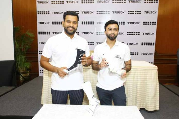 Rohit Sharma,Rohit Sharma brands,Trusox brand ambassador India,Trusox sports wear,Sports Business News India