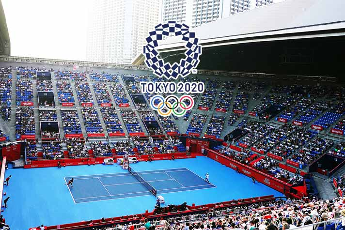 First look of the revamped tennis venue for Tokyo 2020 ...