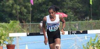 Telangana's G Maheshwari,Junior Athletics Championships,Nandini Gupta,Athletics Championships,Women's 3000m Steeplechase