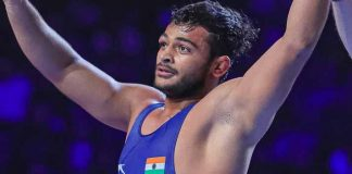 Asian Wrestling Championship: Deepa Punia reached the final of the ongoing Asian Wrestling Championship with a confident 2-0 win