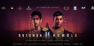 Vijender Singh vs Charles Adamu,Rotunda Rumble 2,Rotunda Rumble 2 LIVE,Vijender Singh,Sony Pictures Sports