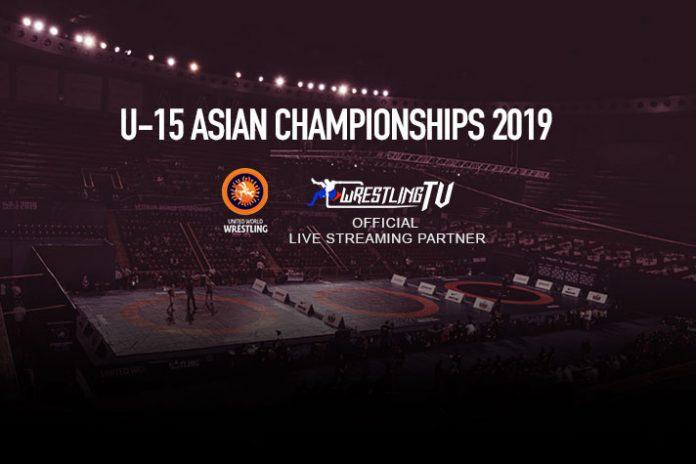 U15 Asian Wrestling Championship,U-15 Asian Wrestling Championship 2019,UWW U-15 Asian Wrestling Championship,Kushti India,Wrestling News India