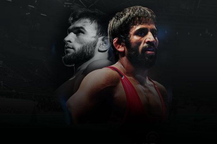 Bajrang Punia,Tokyo 2020 Olympics,Gadzhimurad Rashidov,Kushti India,Wrestling News India